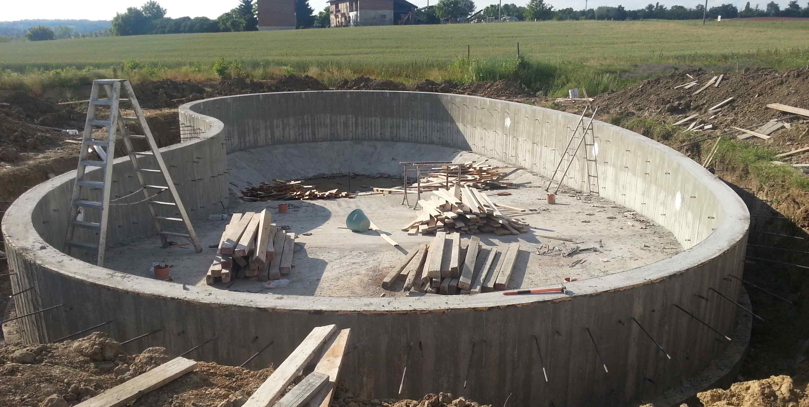 Impresa edile asti realizzazione piscine asti - Come costruire una piscina ...